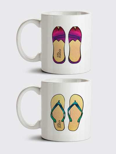 """Sole Mates"" His & Her Mug Set"