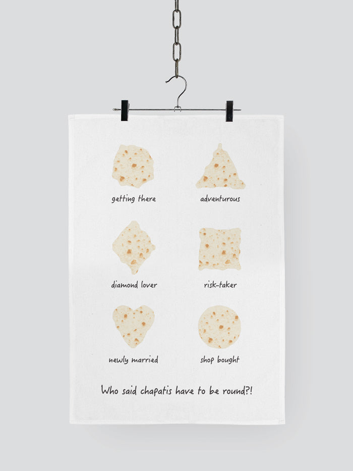 Chapati Tea Towel