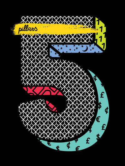 Five Pillars T-shirt