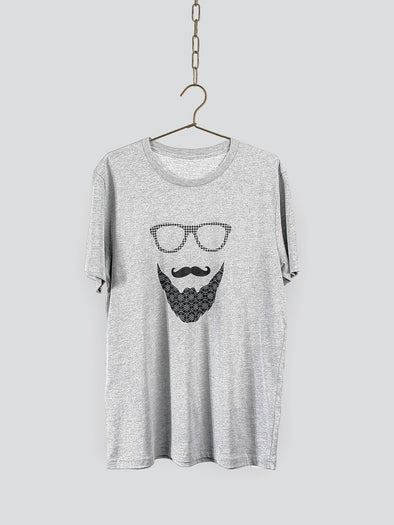 Beard & Moustache T-shirt