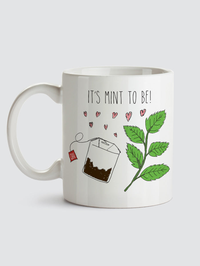 """It's Mint to Be"" Mint Chai Mug"