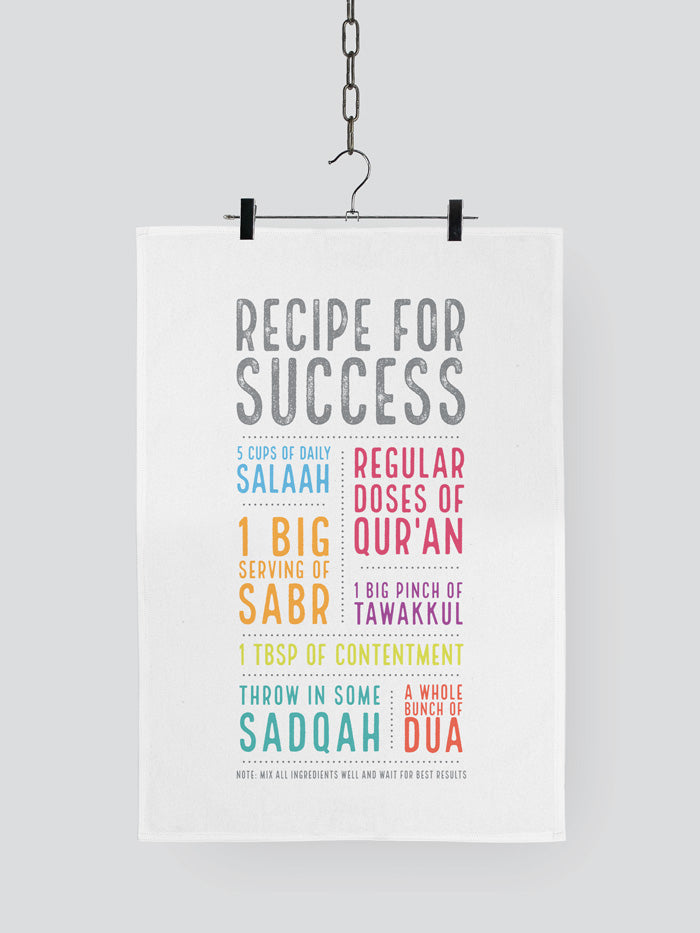 Recipe for Success Tea Towel