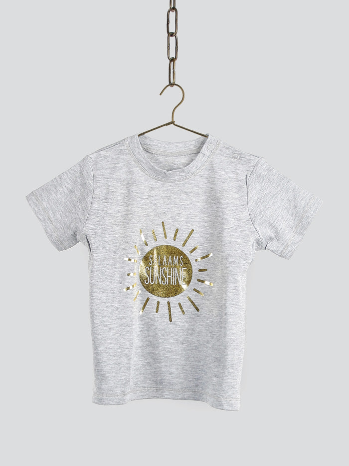 Salaams Sunshine T-Shirt - Grey