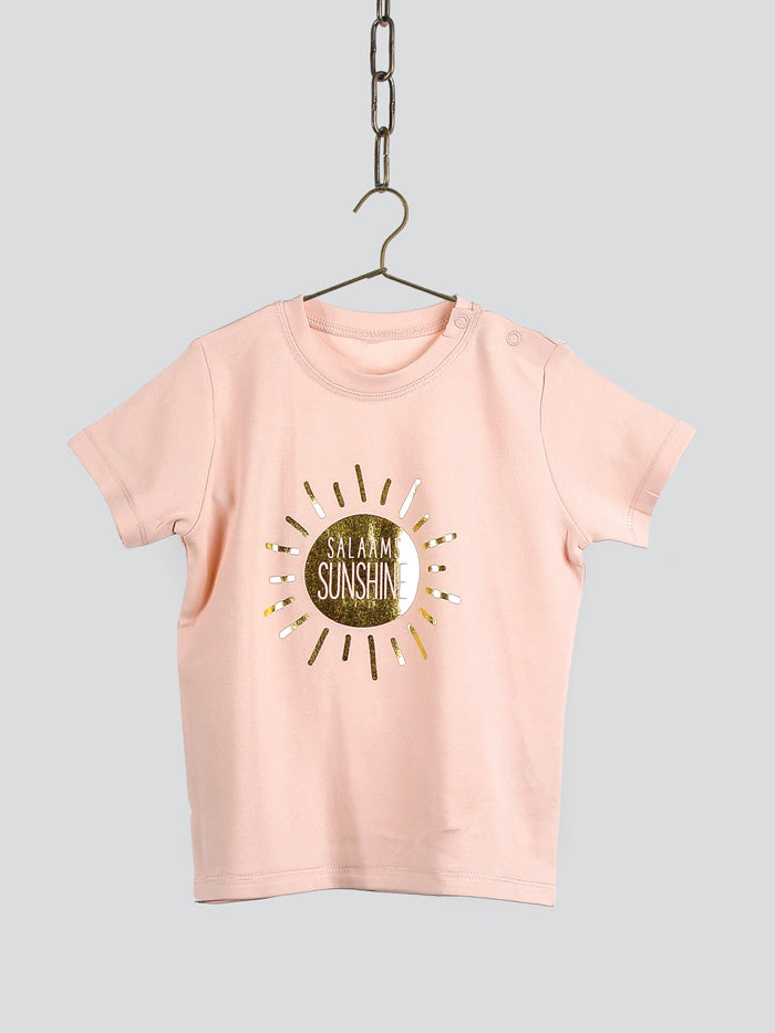 Salaams Sunshine T-Shirt - Pink