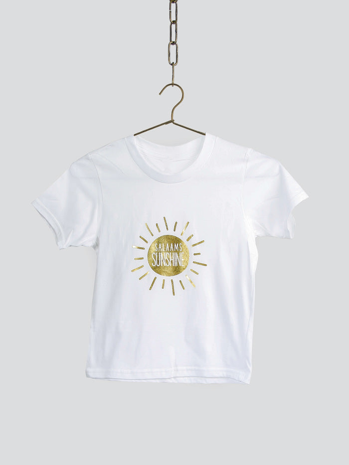 Salaams Sunshine T-Shirt - White