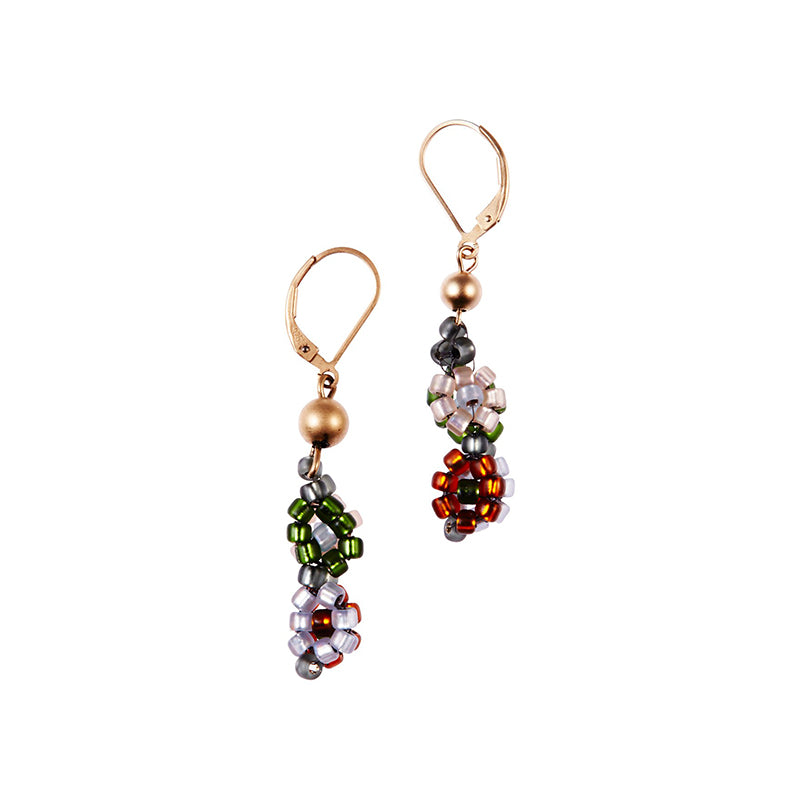 POMS Floral Earrings