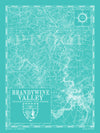 Map of Brandywine Valley, DE & PA