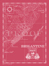 Map of Brigantine, NJ