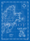 Map of Cape Ann, MA