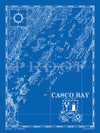 Map of Casco Bay, ME
