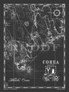 Map of Corea, ME