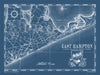 Map of East Hampton, NY