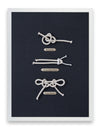 Framed Sailing Knots - Bowline Knot Series