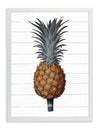 Framed Pineapple Print - Pineapple on Shiplap