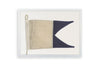 Framed Nautical Flag - A