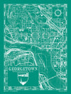 Map of Georgetown, Washington D.C.
