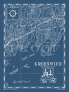 Map of Greenwich (Vertical)