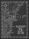 Map of Hampton, NH