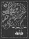 Map of Hilton Head, SC