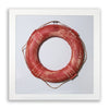 Framed Life Preserver - Red