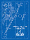 Map of Long Beach Island, NJ