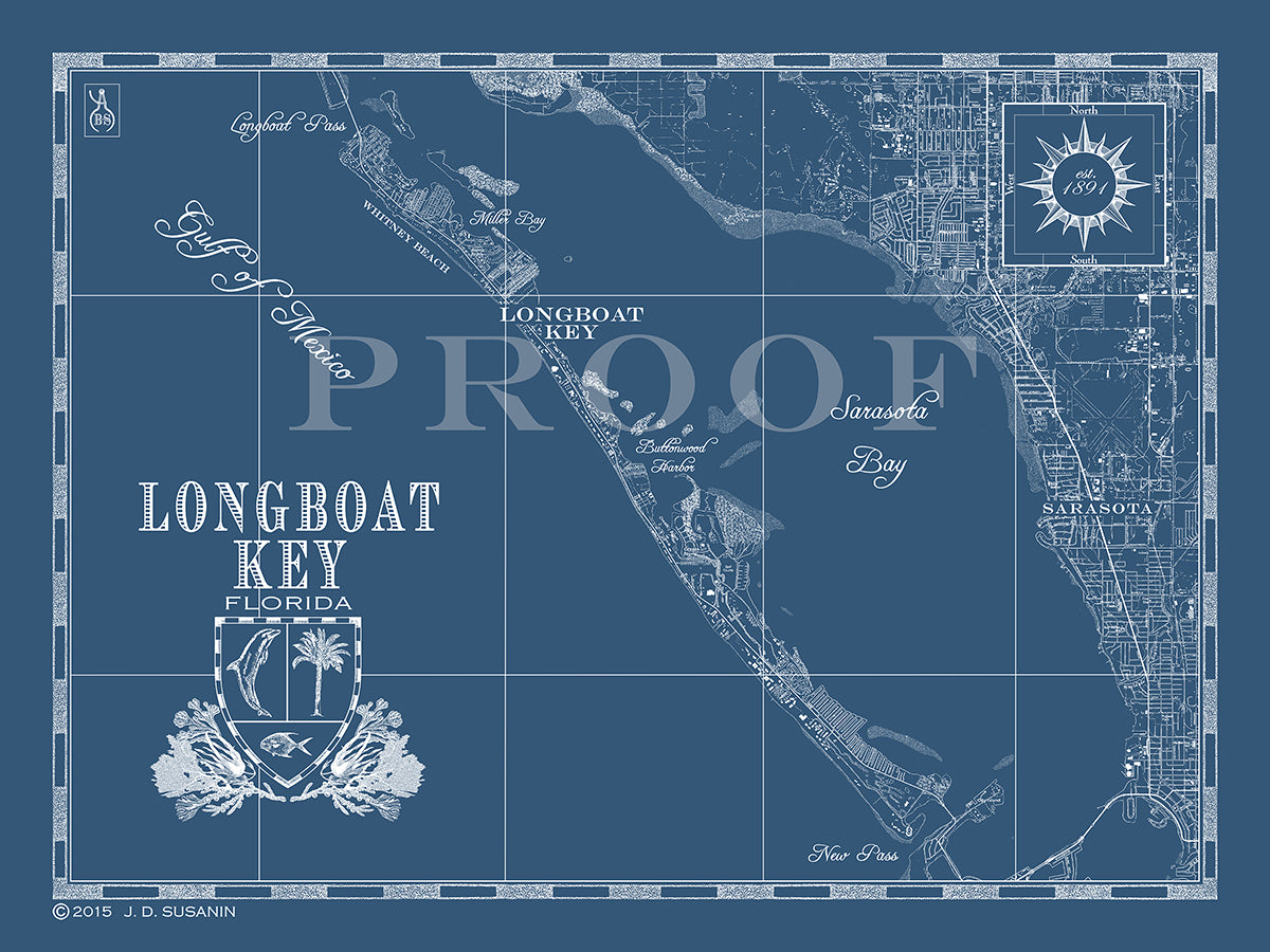 Florida Maps Tagged Map Of Longboat Key Fl Bank And Surf