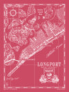 Map of Longport, NJ (vertical)