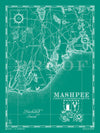 Map of Mashpee, MA