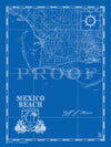 Map of Mexico Beach, FL