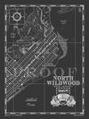 Map of North Wildwood, NJ