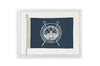 Framed Nautical Flag - Ocean City Beach Patrol - Navy