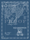 Map of Old Greenwich, CT