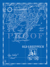 Map of Old Greenwich