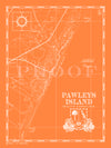 Map of Pawleys Island, SC