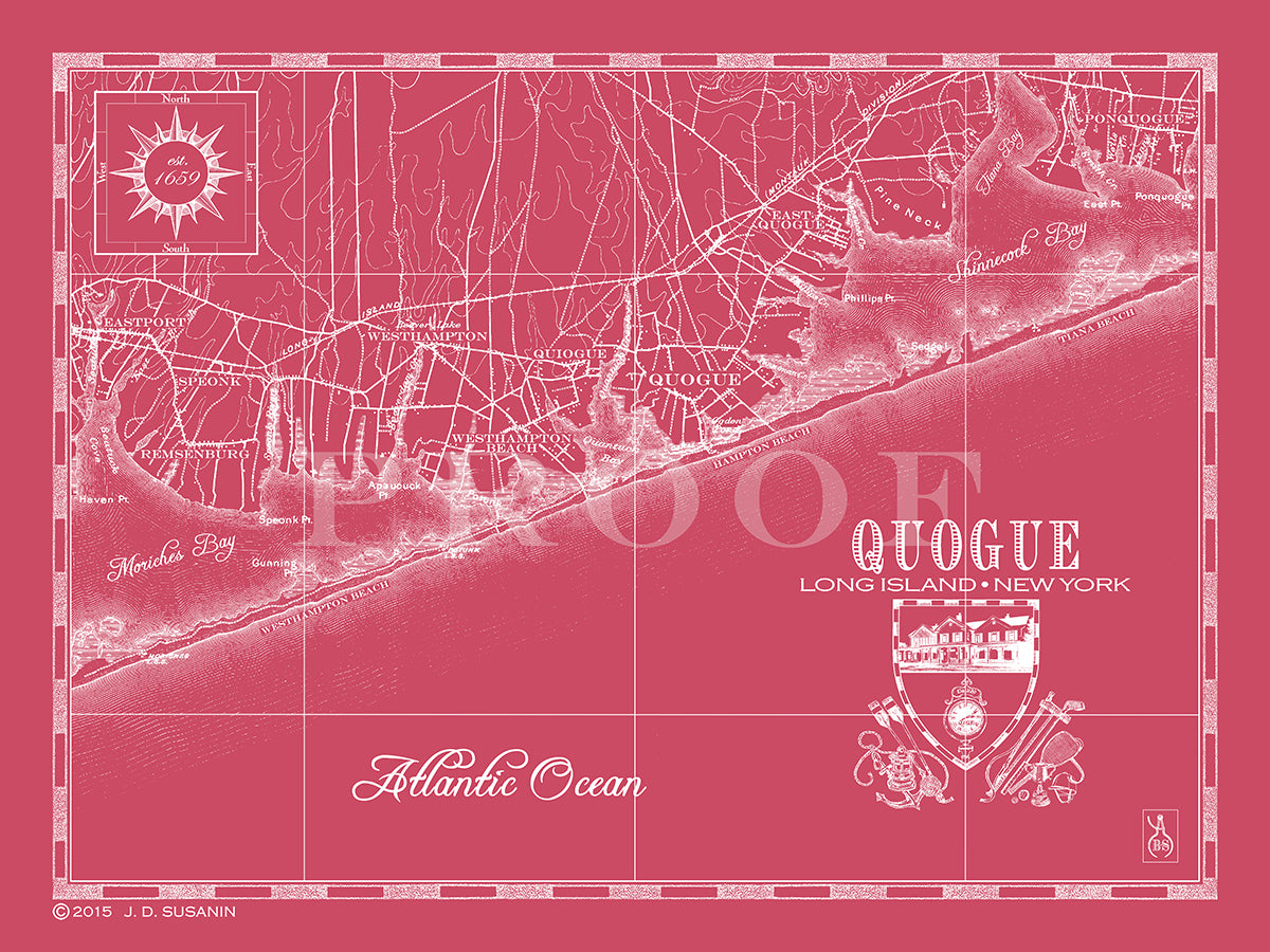 Map Of Quogue New York.Map Of Quogue Ny