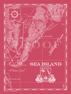 Map of Sea Island, GA