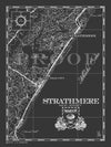Map of Strathmere, NJ