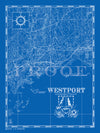 Map of Westport, CT