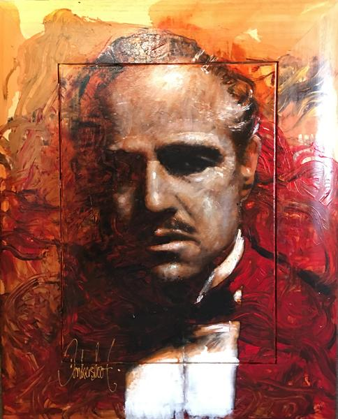 The Godfather Donkersloot Authentic | schilderij Peter Donkersloot