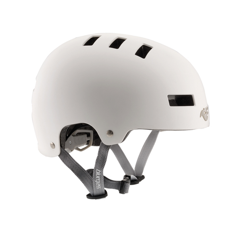 Bluegrass Super Bold Helmet (White/Grey)