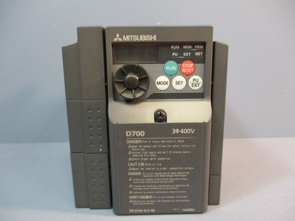 Mitsubishi Electric FR-D740-012-NA Micro Inverter Used