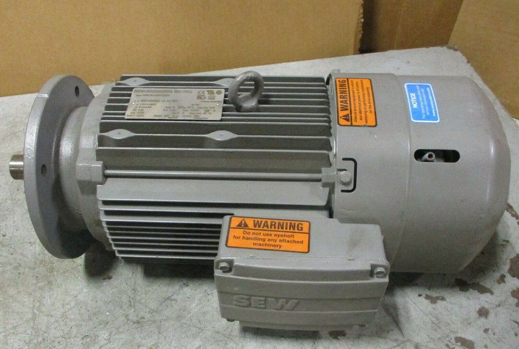 Sew Eurodrive DRE100L4BE5HF/FL Brake Motor 3 Phase, 3 HP, 1735 Rpm, 230/460 Volt