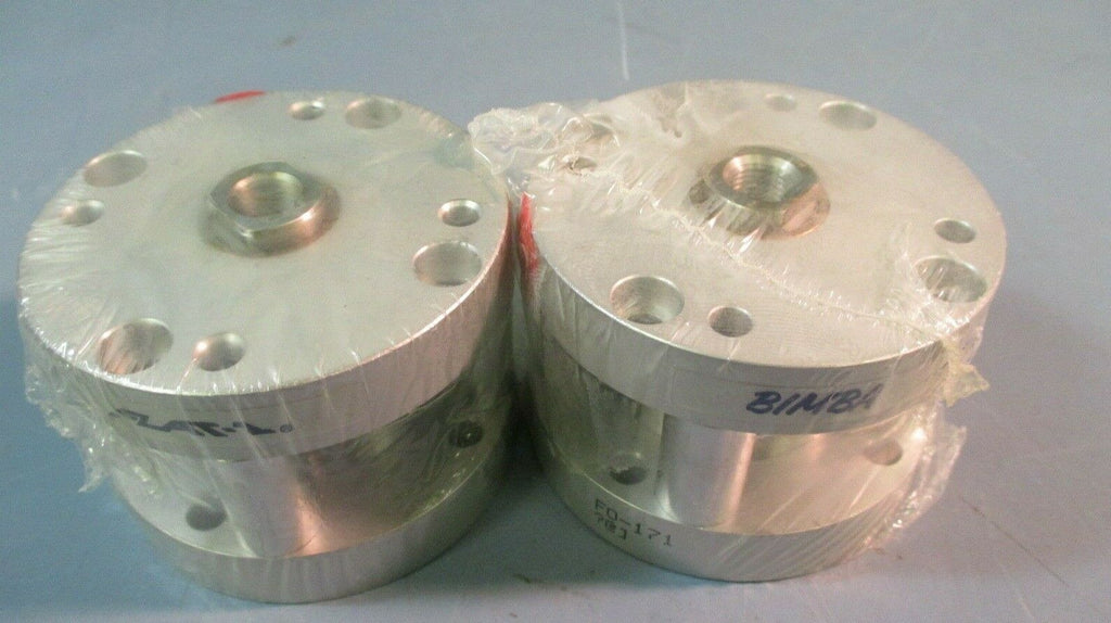 BIMBA F0-171 PNEUMATIC CYLINDER AIR, DBL ACTUATING 1-1/2 IN BORE, 1 IN LOT OF 2