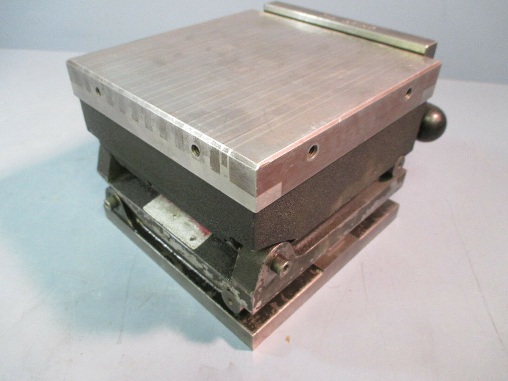 "Suburban 6x6"" Magnetic Sine Plate Multi Axis for Grinding Milling"