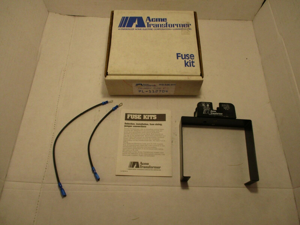 ACME Transformer Primary Fuse Kit PL-112704 NEW IN BOX