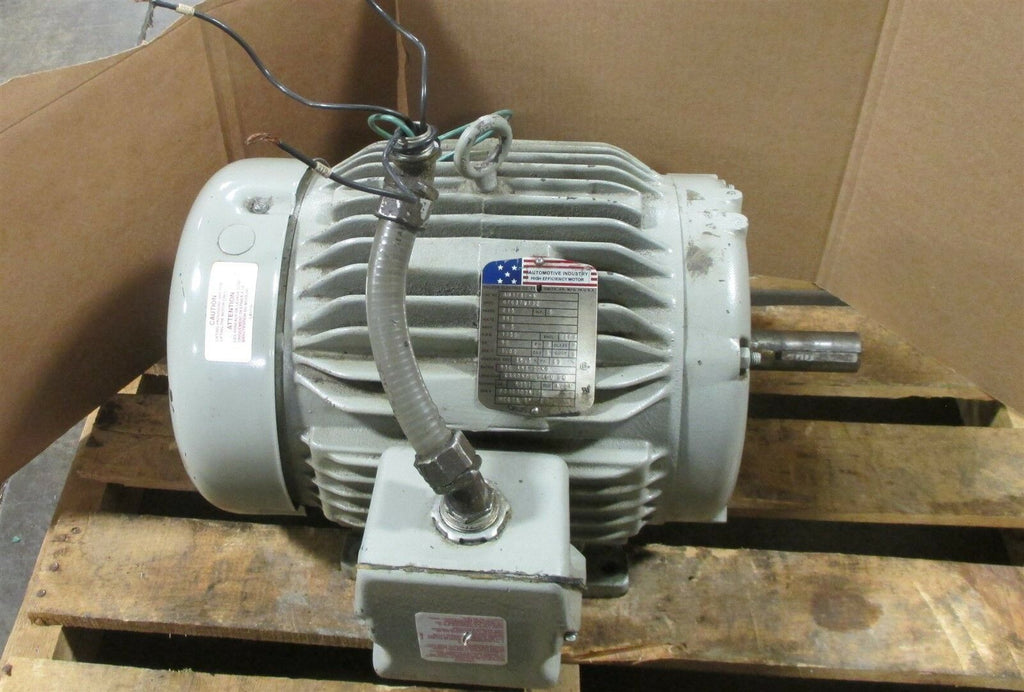 Baldor Automative Industry AM3787-4 5 HP Motor 215 Fr 460 V 3 PH, 1750 RPM Used