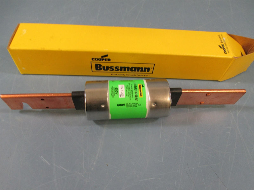Bussmann FRS-R-200 600V Dual-Element Time-Delay Class RK5 Fuse - New
