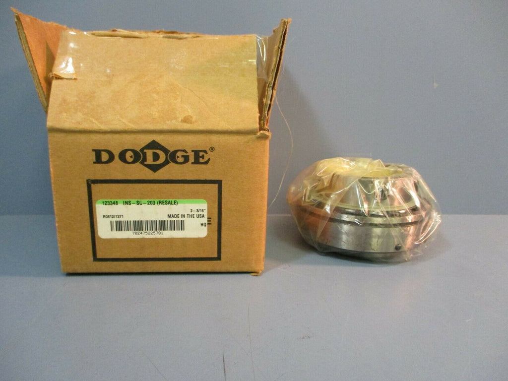 "Dodge Insert Bearing INS-SO-203 2-3/16"" NEW IN BOX"