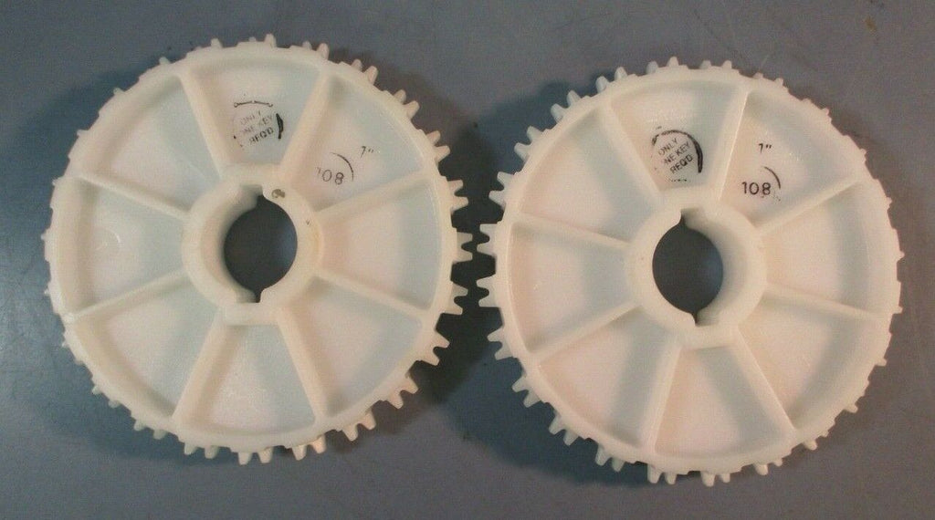 "Lot of 2| Intralox S1100 24 teeth, 1"" Bore Sprocket (NEW NO BOX)"