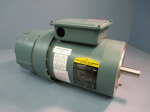 Baldor Dodge Industrial Motor 1Hp 1750RPM 3Ph 208-230/460V 143TC VBM3546T-D